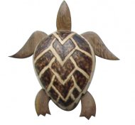 "4"" Large Wood Turtle Magnet"