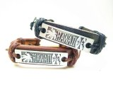Genuine Leather ID Bracelet