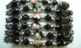 Multi-Task Magnetic Necklace/ Bracelets w/ Black Cloisonne Beads