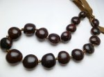 Brown Cebucao Sheep's Eye (18 Nuts) Choker