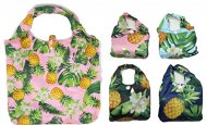 Hawaii Pineapple Print Reusable Bag with Matching Pouch
