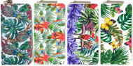 Assorted Tropical Flower Printed Wallet