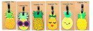 Pineapple Luggage / Baggage Tag