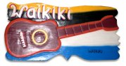 """Wakiki"" w/ Ukelele Wooden Sign"