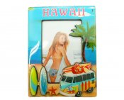 "8""X6"" Hawaii Theme Resin Photo Frame Photo size 4""X6"""