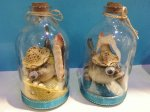""" Aloha From Hawaii"" BlowFish and Shell Bottle w/Asst Color Sand"
