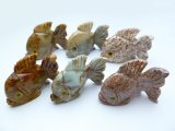 "1.5"" Fish Rooster Carving Figurines"