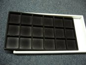 Black Plastic Display Tray
